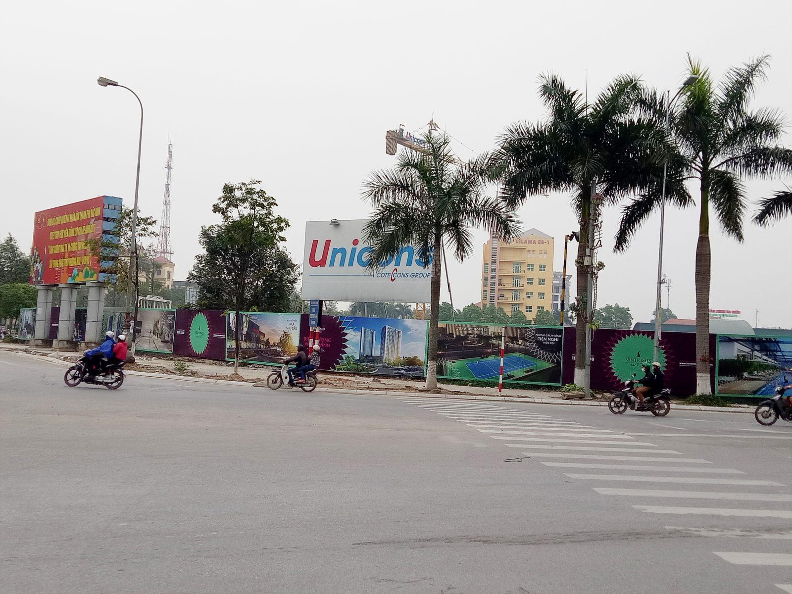 Xung quanh dự án Vinhomes Bắc Ninh đã có hình ảnh quảng bá