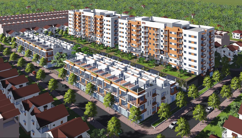 Dự án nhà ở xã hội Dầu khí Sông Hồng
