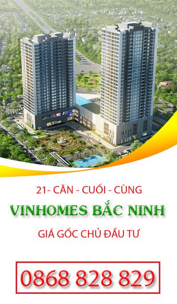 Vinhomes Bắc Ninh Giá gốc chủ đầu tư/