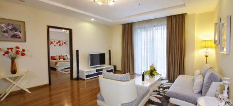 Căn hộ chung cư Viglacera Bắc Ninh - Phòng khách