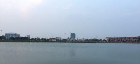 Hồ điều hòa Văn Miếu, thành phố Bắc Ninh