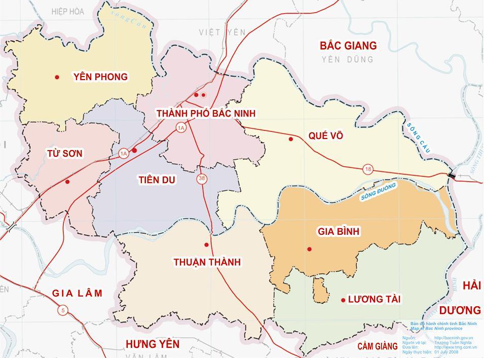 Huyện Yên Phong, tỉnh Bắc Ninh