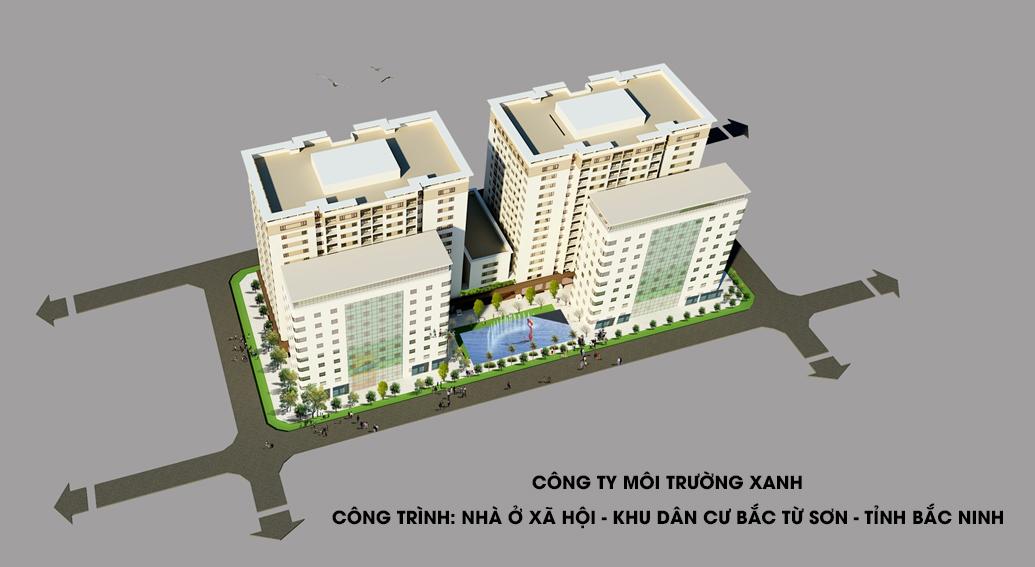 Dự án nhà ở xã hội tại Bắc Từ Sơn