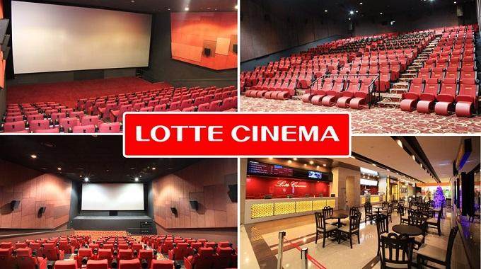 Rạp chiếu phim Lotte Bắc Ninh sẽ là điểm đến lí tưởng dành cho các mọt phim