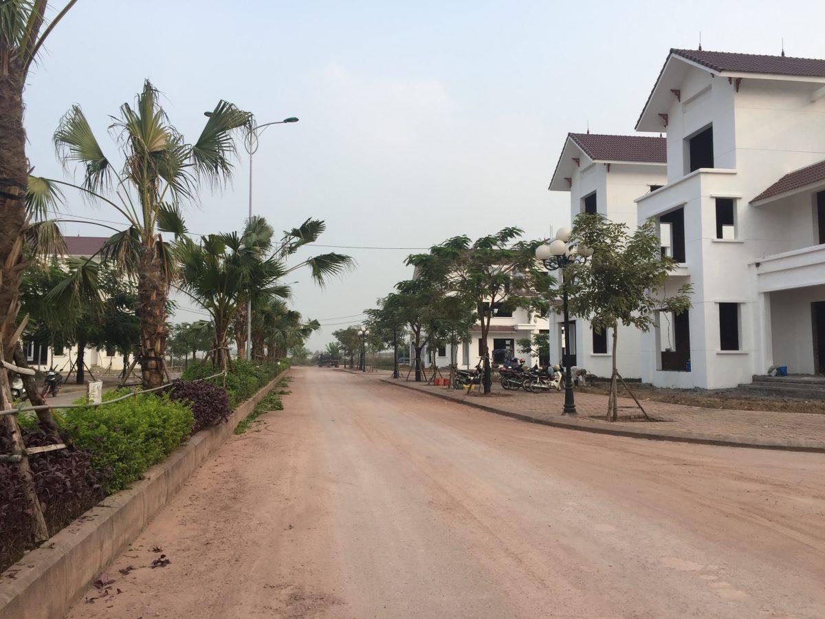 Hình ảnh thực tế khu tại dự án khu đô thị Phúc Ninh