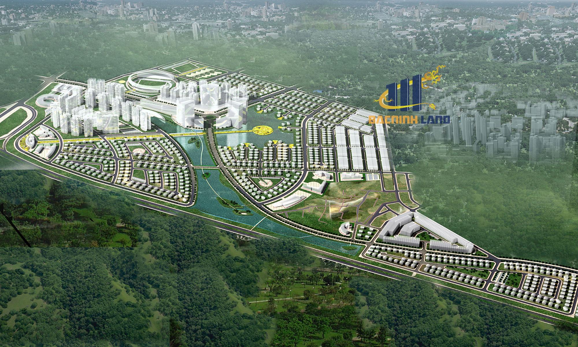 Dự án khu đô thị ( KĐT ) Phúc Ninh – Cuộc sống xanh trong từng hơi thở