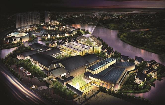 Khu trung tâm dân cư - căn hộ khu đô thị Phúc Ninh