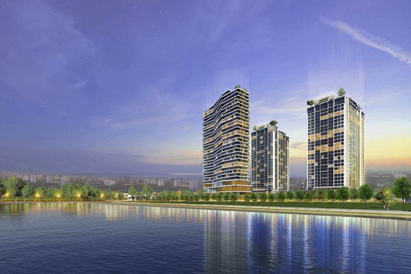 Phối cảnh dự án Aqua Park Bắc Giang