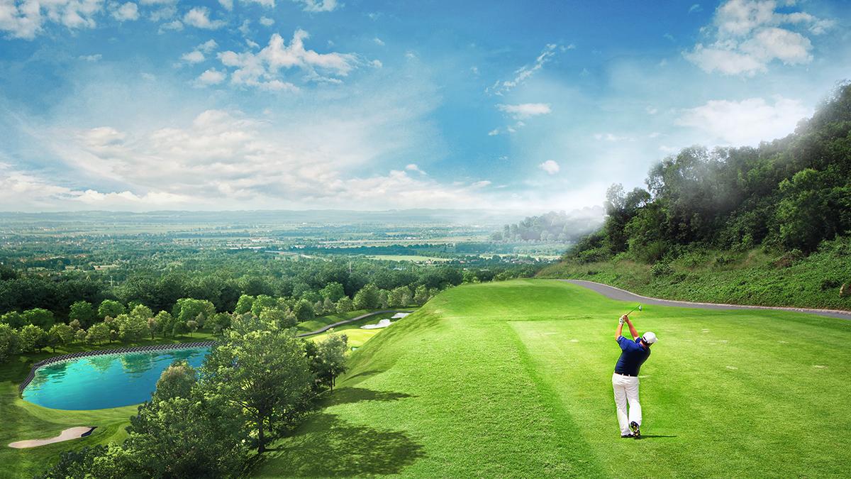 Sân Golf tại Yên Dũng Resort