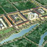 Phối cảnh tổng quan dự án khu đô thị Đền Đô - Từ Sơn - Bắc Ninh