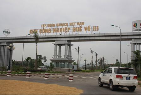 Khu công nghiệp Quế Võ Bắc Ninh