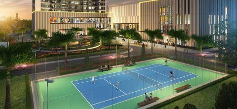 sân tennis vinhomes bắc ninh