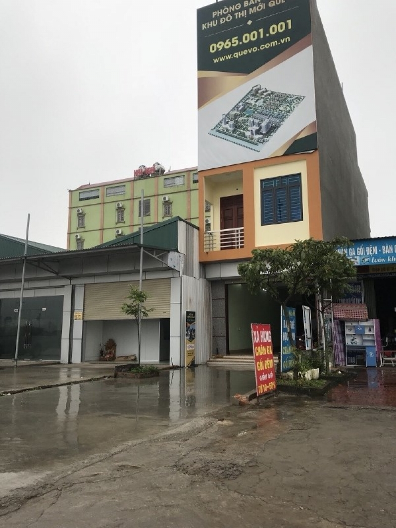 Văn phòng mô giới mua bán nhà đất của Khu đô thị Quế Võ Bắc Ninh