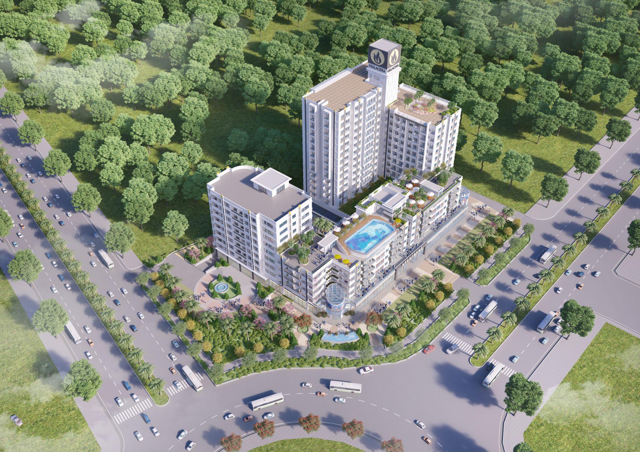 Thông tin dự án Chung cư Viglacera ngã 6 Bắc Ninh