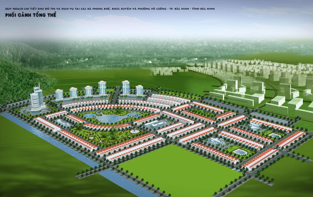 Thông tin dự án khu đô thị Dabaco Khúc Xuyên, Bắc Ninh