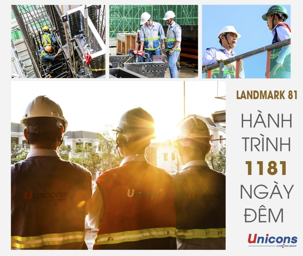Chính thức cất nóc siêu dự án Landmark 81, toà nhà cao nhất Việt Nam!