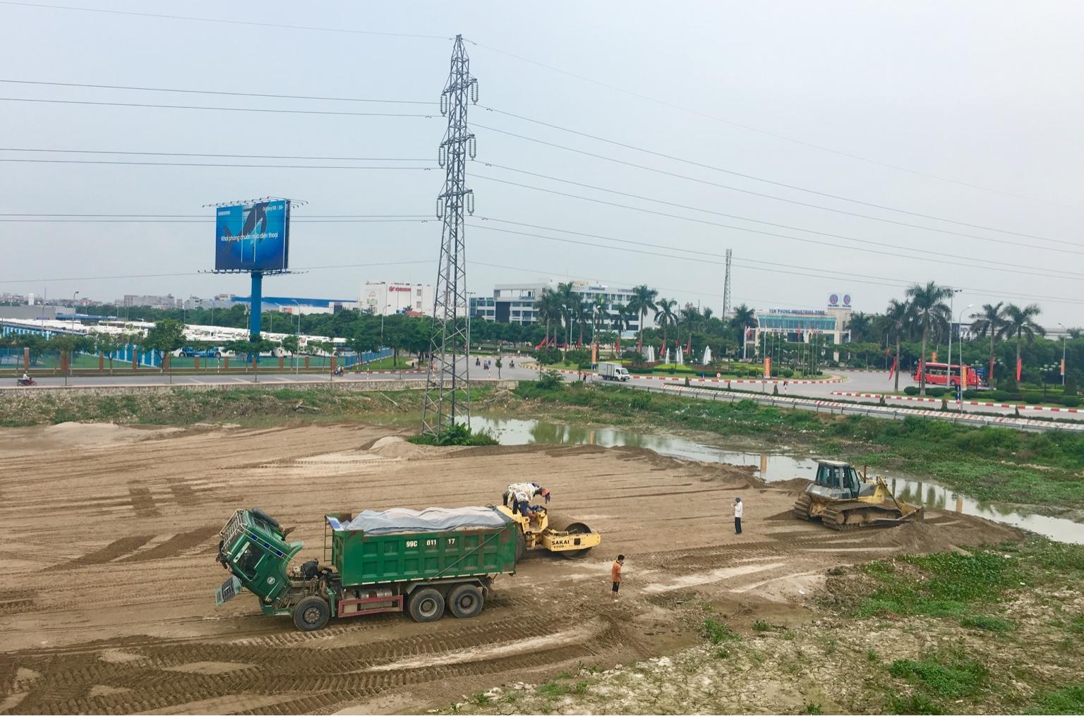 Bán 5000m2 đất làm xưởng tại Quế Võ, Bắc Ninh giá hợp lý