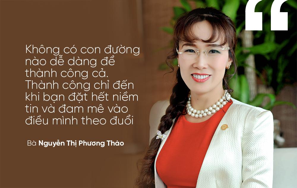 Bà Nguyễn Thị Phương Thảo, CEO hãng hàng không VietJet (VJC)