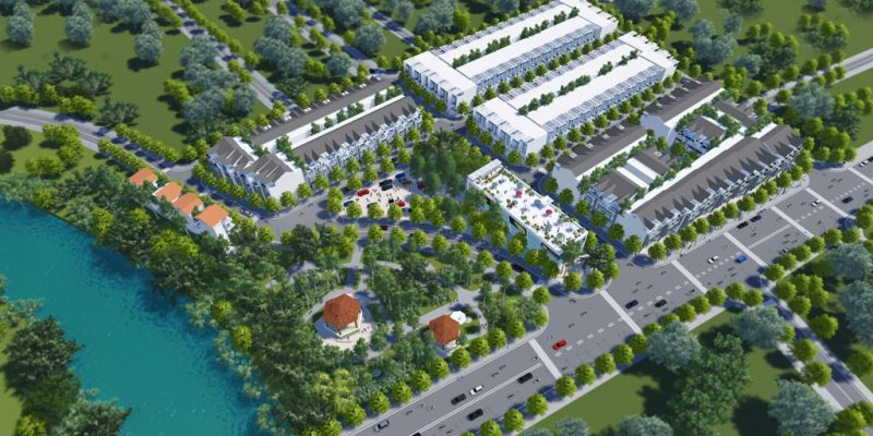 Vị trí dự án khu đô thị Nam Hồng Garden Từ Sơn.