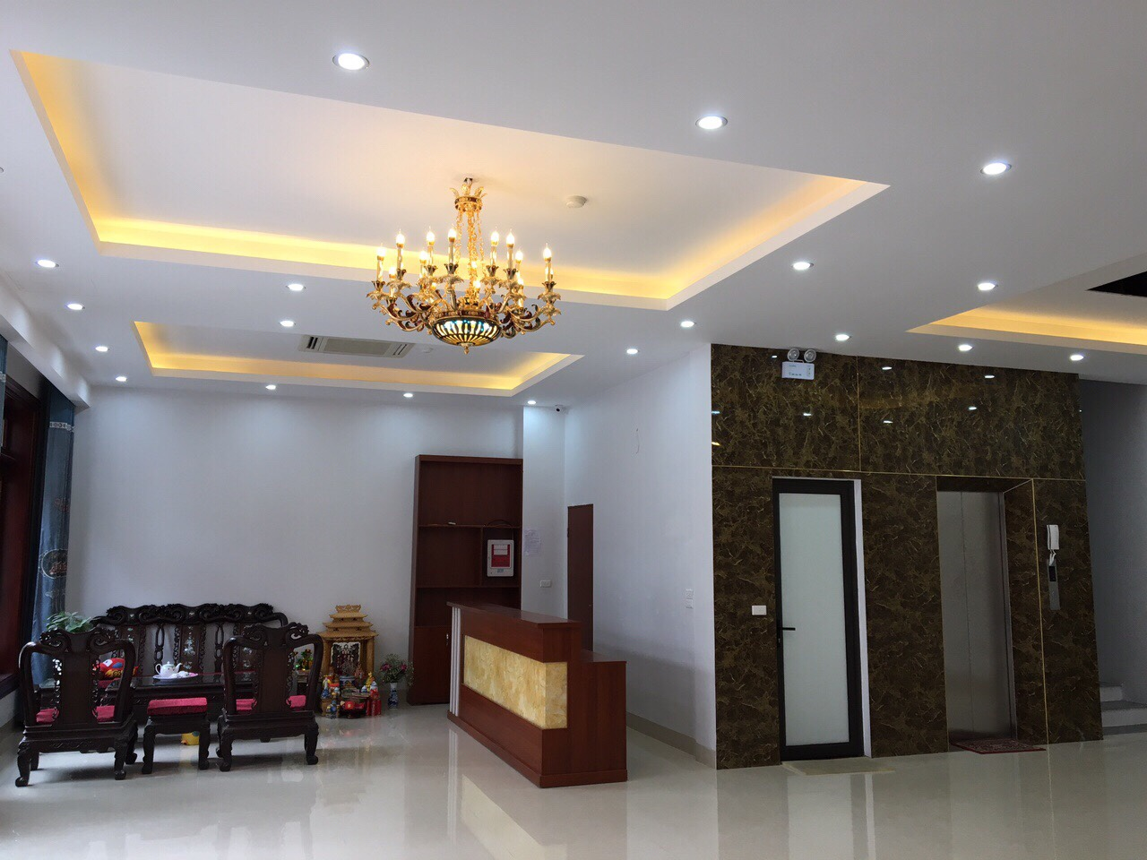 Cho thuê nhà 6 tầng đường Lý Quốc Sư, phường Võ Cường, TP. Bắc Ninh