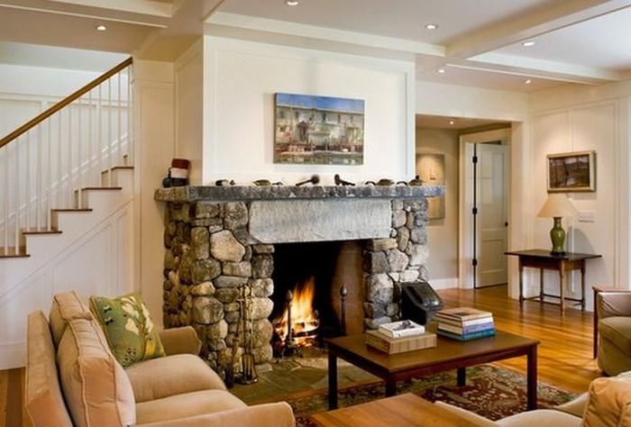 bài trí phòng khách kết hợp giữa hiện đại và cổ điển
