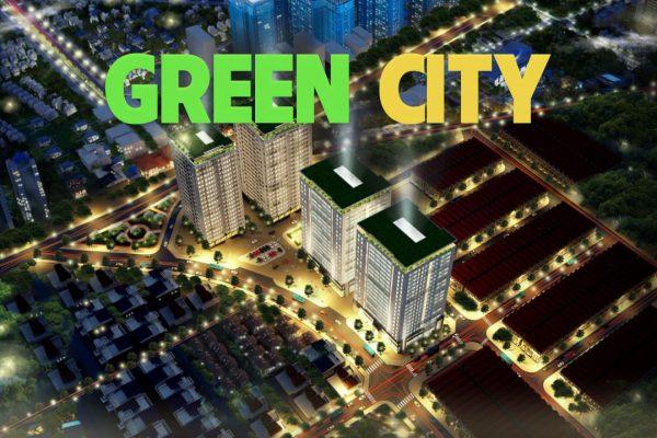 Phối cảnh 3D dự án chung cư green city Bắc Giang