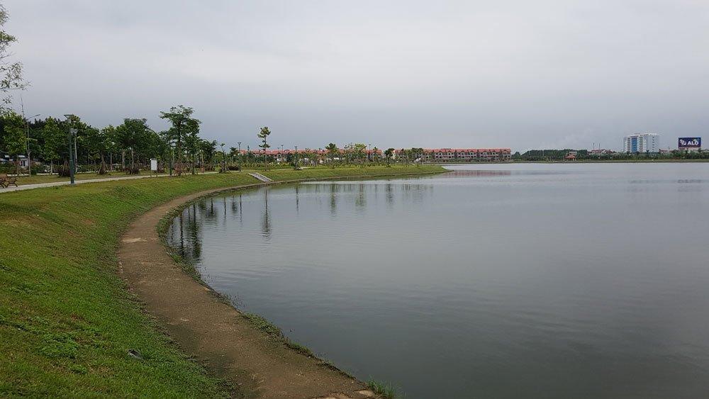 Công viên Hồ điều hòa Văn Miếu Bắc Ninh