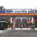 Trường chuyên Bắc Ninh là một trong những dự án BT đã được hoàn thành