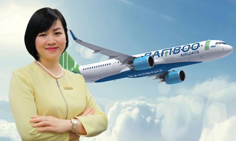 Bà Dương Thị Mai Hoa được bổ nhiệm vào vị trí Phó chủ tịch kiêm Phó Tổng giám đốc tài chính của Bamboo Ariways