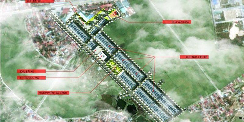 Khu dân cư mới Dĩnh Trì, cạnh tỉnh lộ 299, Bắc Giang