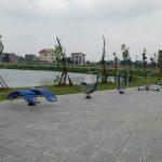 Khu vực Trúc Sơn Trang nằm gần Hồ điều hòa Văn Miếu Bắc Ninh