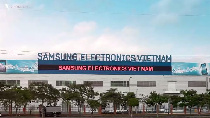 Samsung Electronic Việt Nam tại Bắc Ninh