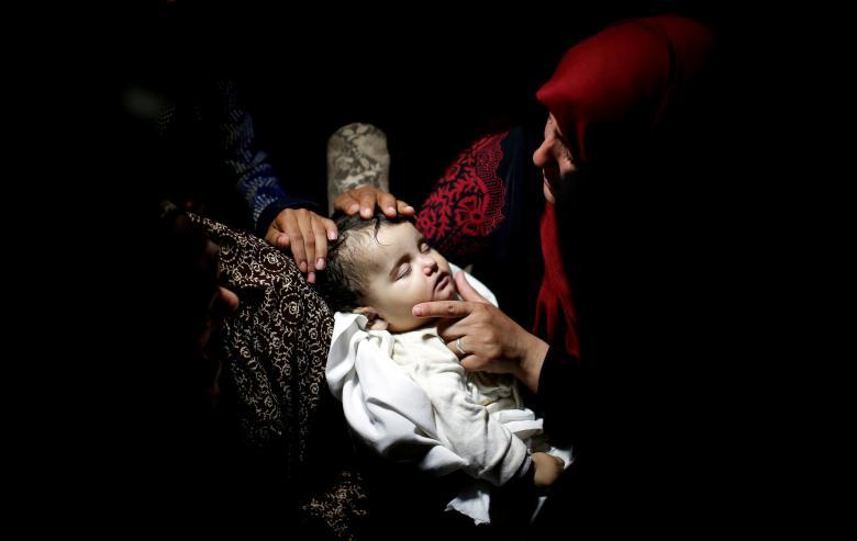 Palestinian infant