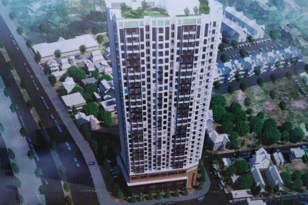 Chung cư Green Pearl Bắc Ninh ( Tòa nhà trung tâm thương mại dịch vụ tổng hợp và chung cư để bán )
