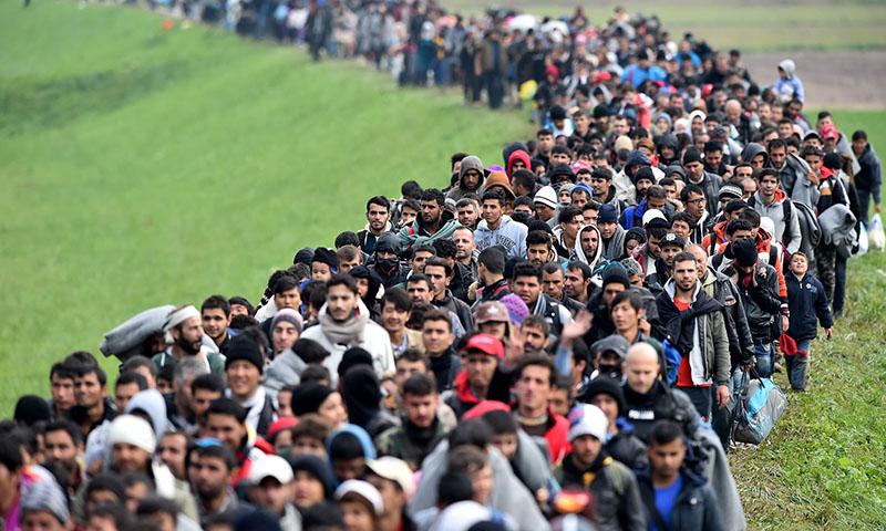 Cuộc khủng hoảng người di cư bùng phát ở Liên minh Châu Âu ( EU )