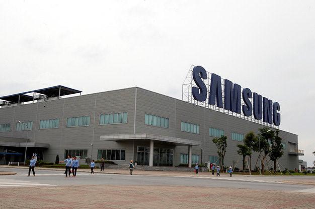 Một góc Samsung Display Việt Nam - tại Khu công nghiệp Yên Phong Bắc Ninh