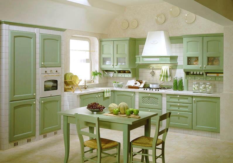 Nhà bếp nên đặt ở những nơi có ánh sáng tốt thông thoáng, tránh gió