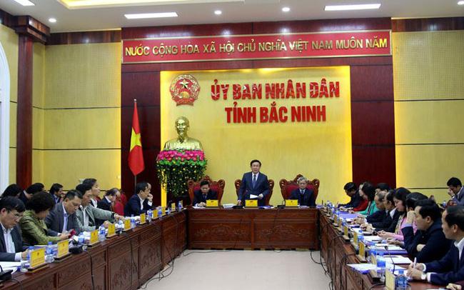 Thủ tướng Vương Đình Huệ có cuộc làm việc với tỉnh Bắc Ninh