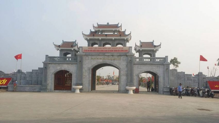 Thành cổ Xương Giang, Bắc Giang