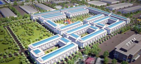 Khu đô thị mới Yên Phong City ( Bắc Ninh ): Bảng giá, CSBH