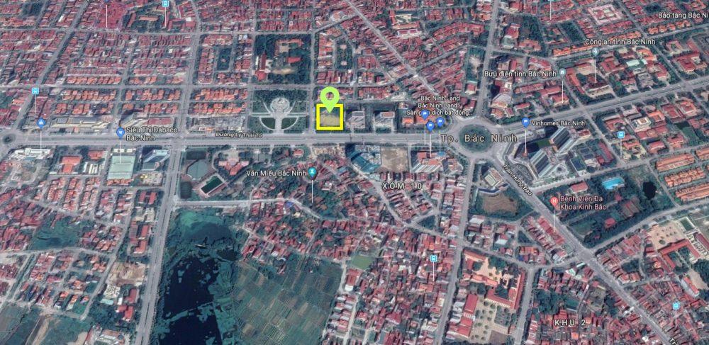Vị trí dự án chung cư Dabaco Lý Thái Tổ