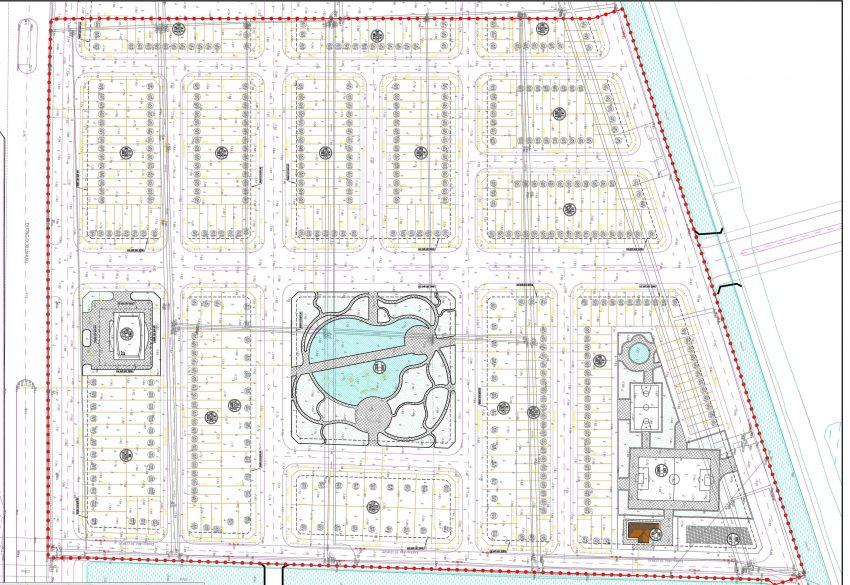 Mặt bằng tổng thể dự án khu đô thị Đồng Văn Green Park