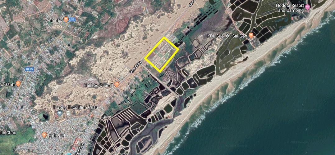 Vị trí dự án nghĩ dưỡng Lagoona Bình Châu, tp. Vũng Tàu