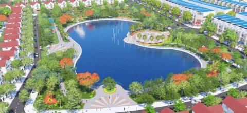 Phối cảnh dự án Phố Thắng Central Park, Hiệp Hòa, Bắc Giang