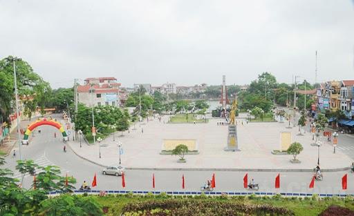 Quảng trường trung tâm thị trấn Thắng, Hiệp Hòa, Bắc Giang