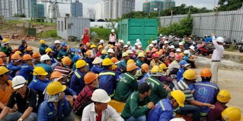 Nhiều doanh nghiệp xây dựng đang đứng trước nguy cơ thất nghiệp Ảnh minh họa