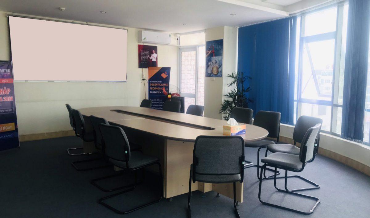 Một trong những phòng họp chung của Lux Office Bac Ninh