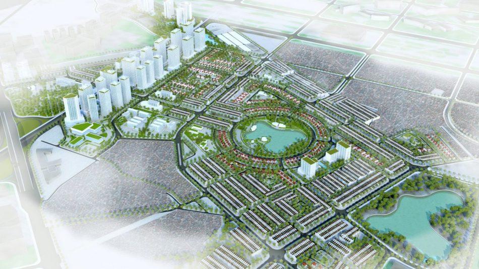 Phối cảnh 3D dự án khu đô thị Hinode Royal Park Hà Nội