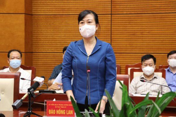 Bí thư Tỉnh ủy Bắc Ninh Đào Hồng Lan.