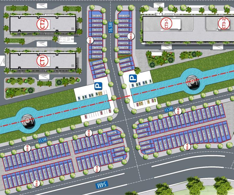 Mặt bằng tổng thể dự án Cát Tường Smart City Yên Phong
